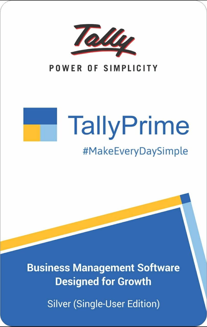 Tally Prime Silver Tally Software Price