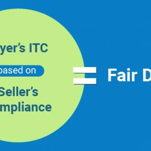 Purchaser ITC based upon Seller's Compliance– Fair Deal?
