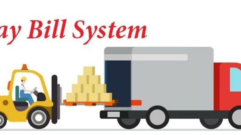 E way bill system