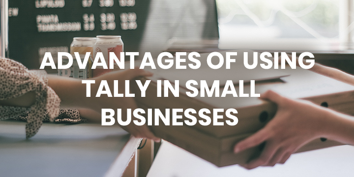 ADVANTAGES OF USING TALLY IN SMALL BUSINESSES