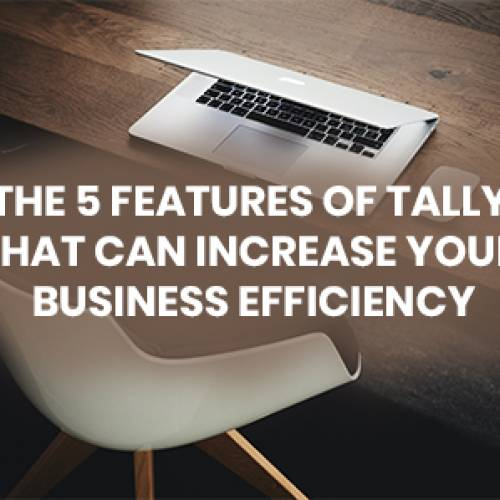 THE 5 FEATURES OF TALLY THAT CAN INCREASE YOUR BUSINESS EFFICIENCY