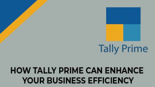 How Tally Prime Can Enhance Your Business Efficiency?
