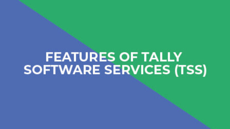 features of tally software
