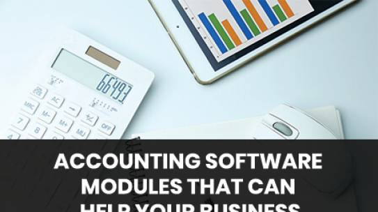 Accounting Software Modules Can Help Your Business